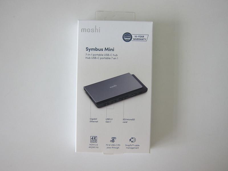 Moshi Symbus Mini 7-in-1 USB-C Hub - Box Front
