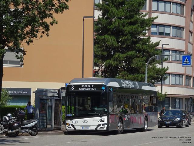 Solaris Urbino IV 12 Hydrogen di SASA Bolzano