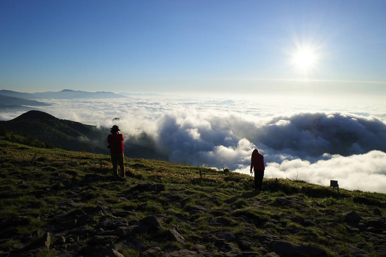 湯ノ丸山からの雲海