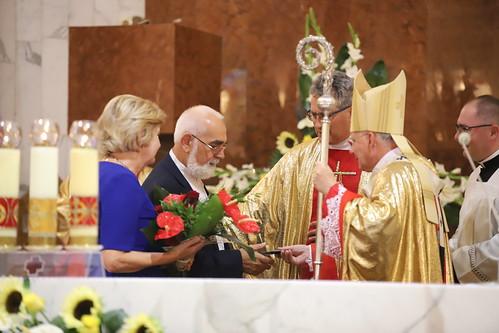 30-lecie Konsekracji Kościoła św. Piotra w Wadowicach i koronacji figury Matki Bożej Fatimskiej 14.08.2021 r.