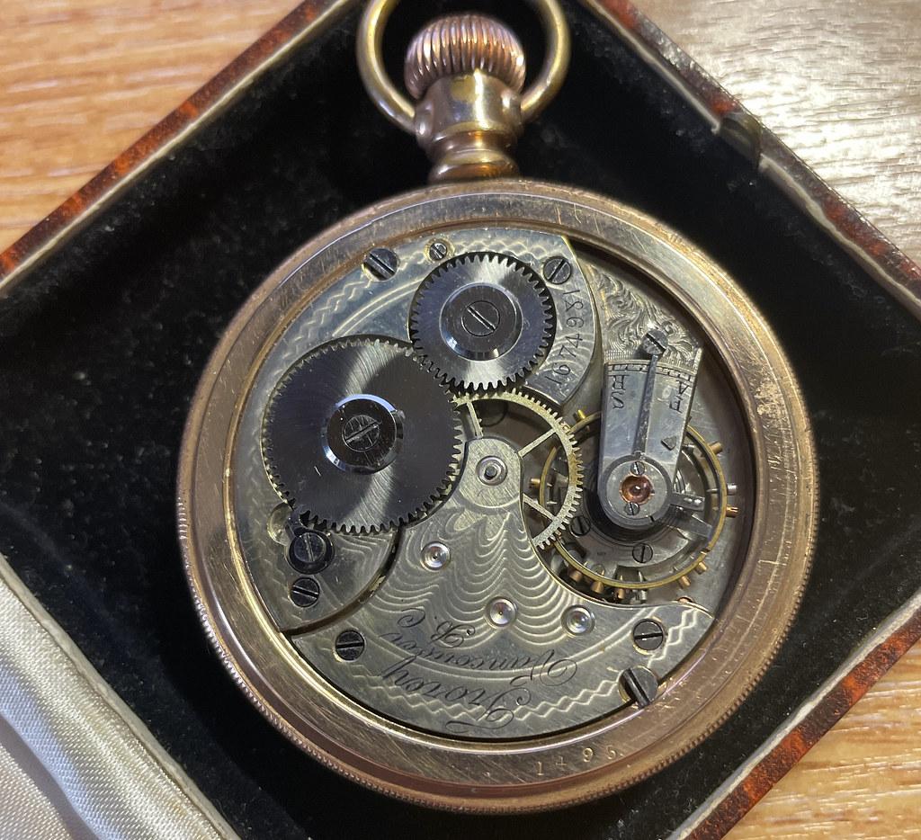 Trorey pocket watch