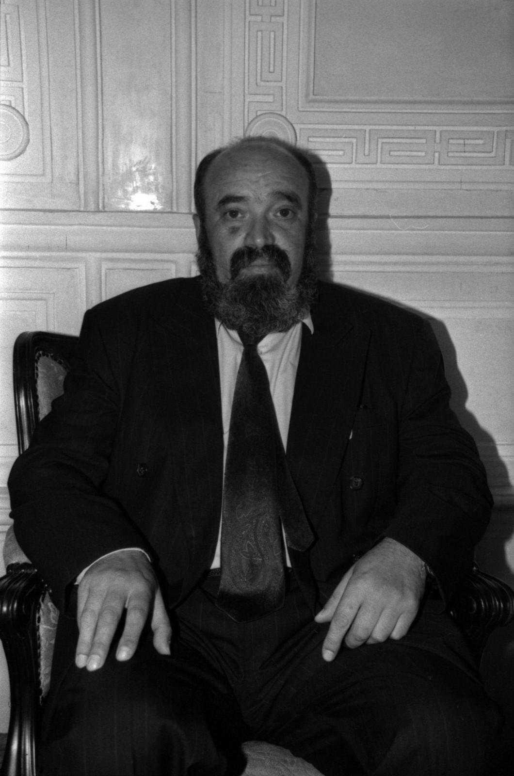 1995. Евгений Попов на вечере в Доме журналистов