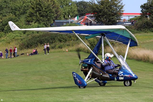 G-OOGY  -  P & M Aviation QuikR c/n 8458   -  EGHP 14/8/21