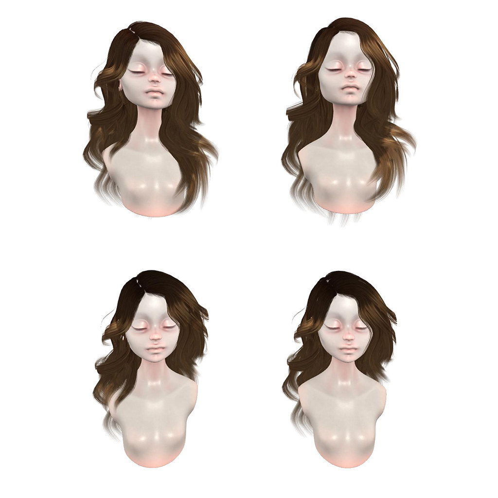 "New Hair: =DeLa*= Mesh Hair ""Malena"""