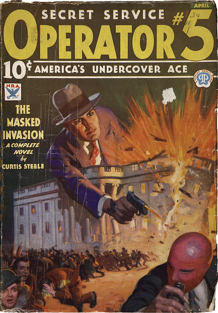 Operator #5 - April_1934 The Masqued Invasion