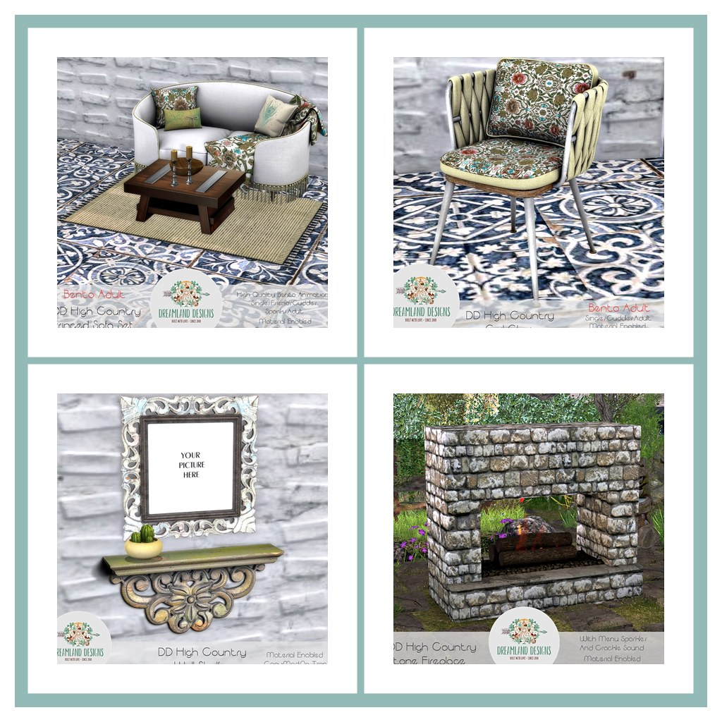 DD High Country Livingroom Collage Blogger
