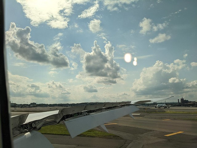 Clouds Over Newark Airport