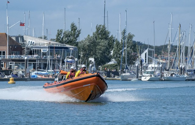 Lymington Lifeboat