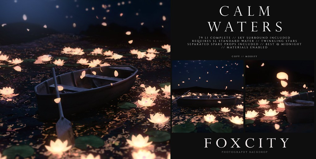 FOXCITY. Photo Booth – Calm Waters