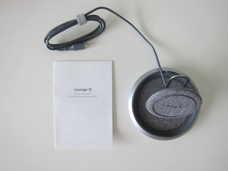 Moshi Lounge Q Wireless Charging Stand - Box Contents