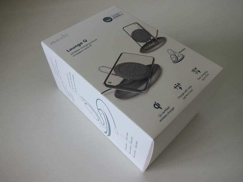 Moshi Lounge Q Wireless Charging Stand - Box