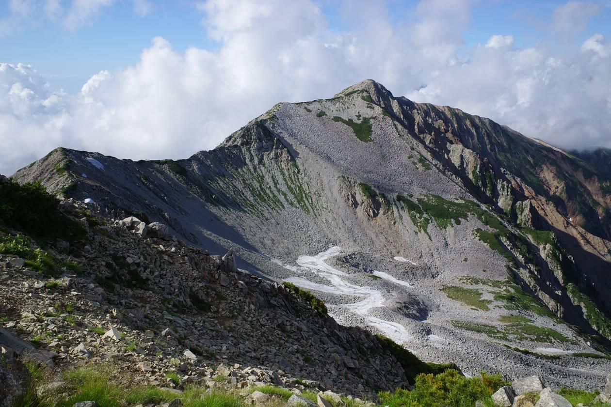 北アルプス・薬師岳