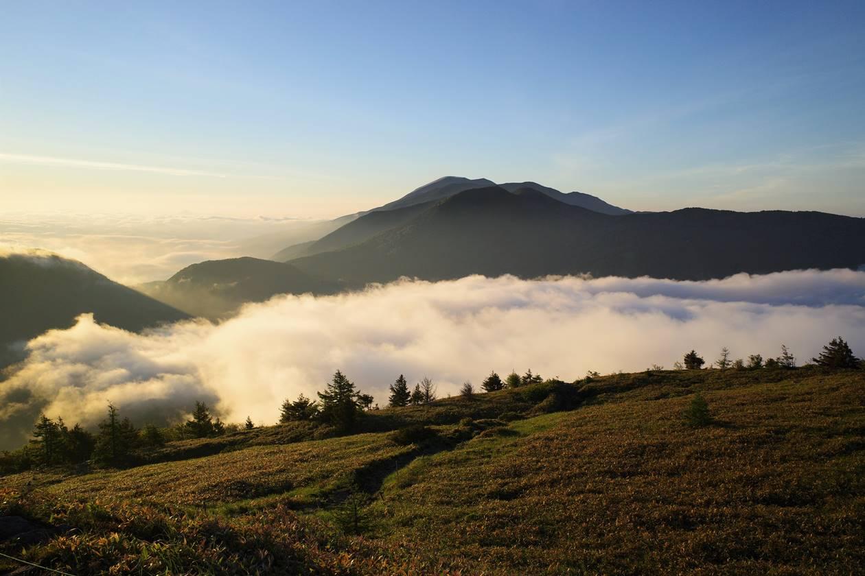 浅間山と雲海