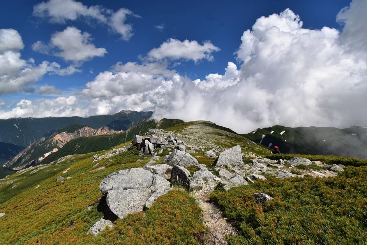 北アルプス・双六岳