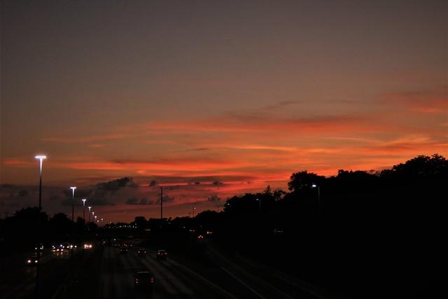 Sunset Of The Orange