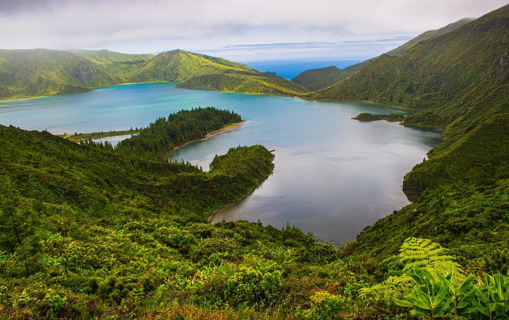 Lagoa do Fogo Volcanic Crater