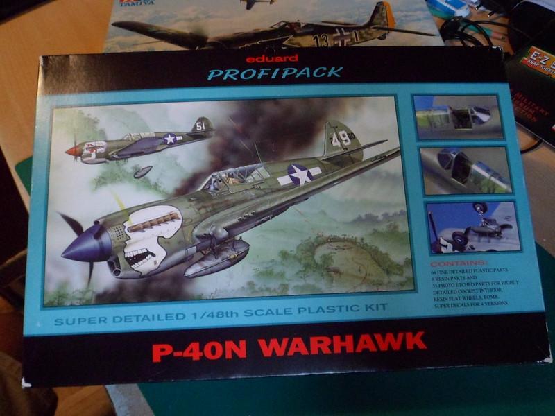 From the box - Curtiss P-40N Warhawk [Eduard 1/48] 51378049233_978efce771_c