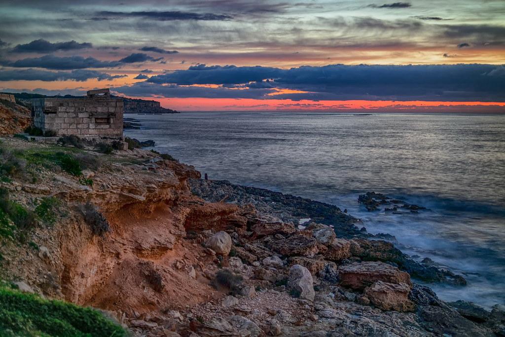 Morgendämmerung [Mellieħa - Malta]