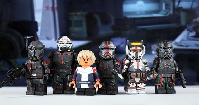 Custom LEGO Star Wars: The Bad Batch