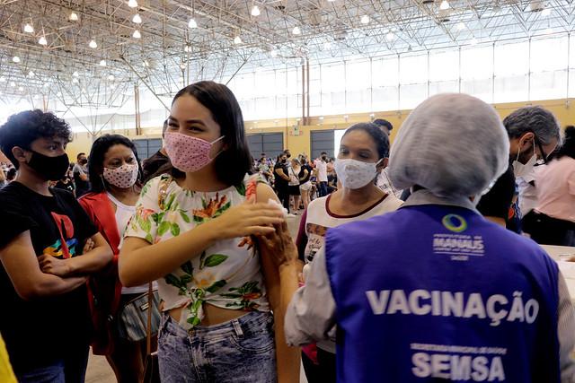 14.08.21 -Prefeitura vacina adolescentes entre 12 e 17 anos, neste sábado 14.08