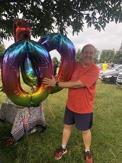 Nigel before his 100th