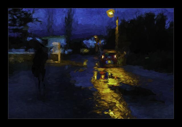 0821TSb A Rainy Night on Naxos