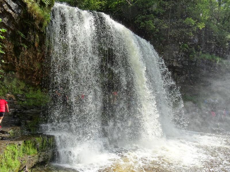 Waterfall Country Walk: Sgwd yr Eira Trail - Sgwd yr Eira (Snow Waterfalls)