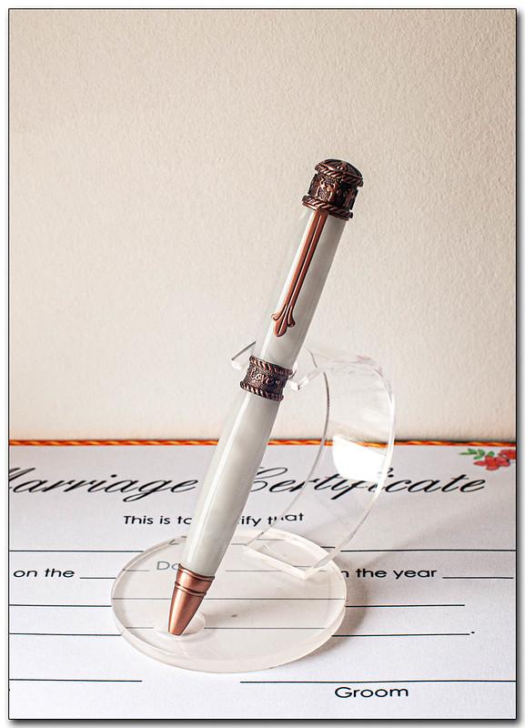 The wedding pen