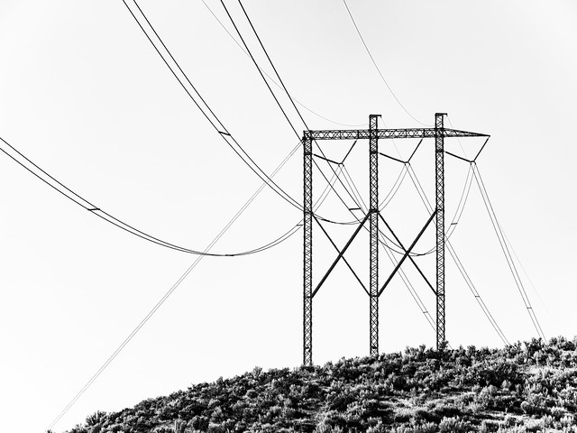 Mountain Power Lines