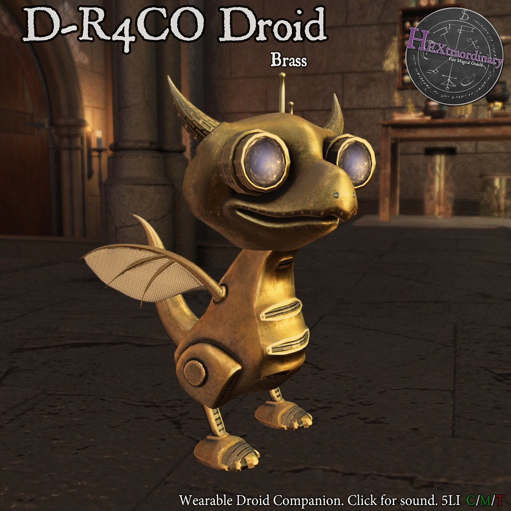 HEXtraordinary – DR4CO Droid – FREE Gift