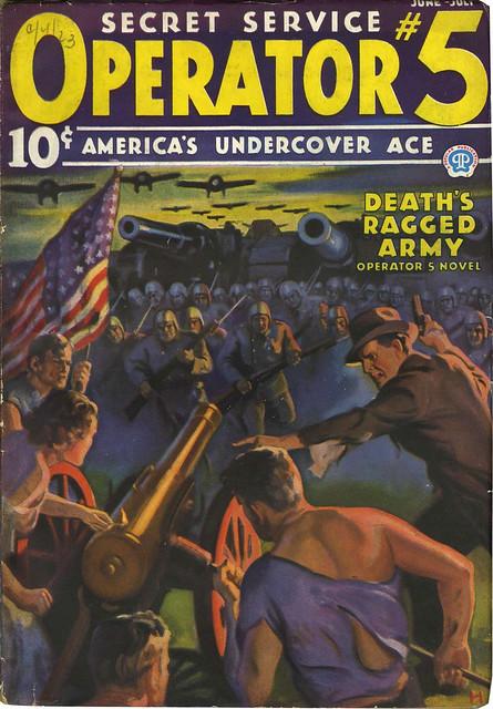 Operator #5 - June_1936 Death's Ragged Army