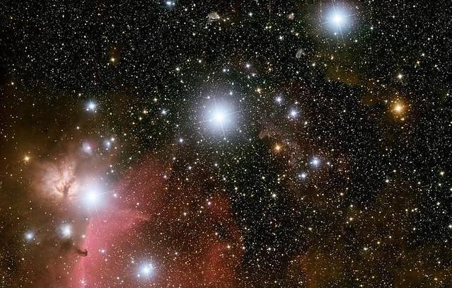 Orion -02- Cinturon de Orin -01- Nebulosa de la La Llama y de la Cabeza de Caballo 03