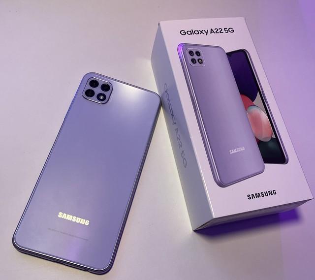 Pengalaman Budiey Buka Kotak Samsung Galaxy A22 5G, Harga Mampu Milik