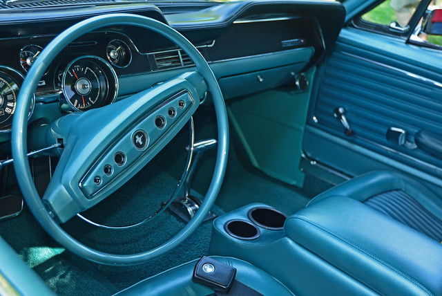 Great 68  - 68 Mustang California Special Interior