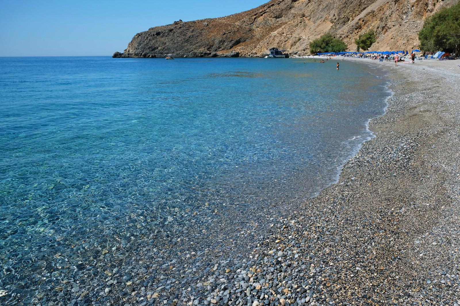 Glyka Nera Beach, Crete, Greece
