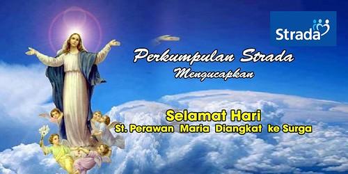 St Perawan Maria Diangkat Ke Surga