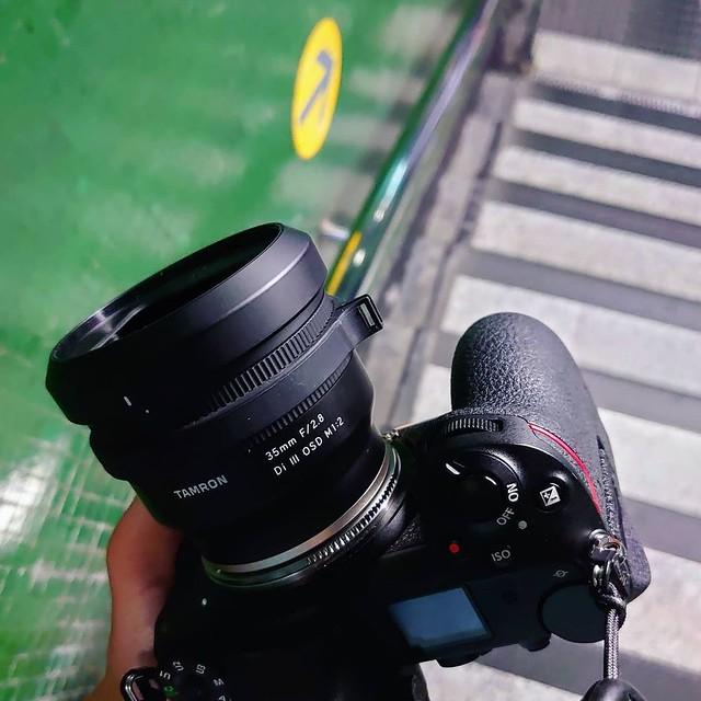 Tamron 35mm f2.8 DI III X Nikon Z6 試飛