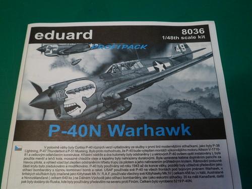 Ouvre boîte Curtiss P-40N Warhawk [Eduard 1/48] 51378822650_31a26b37c0