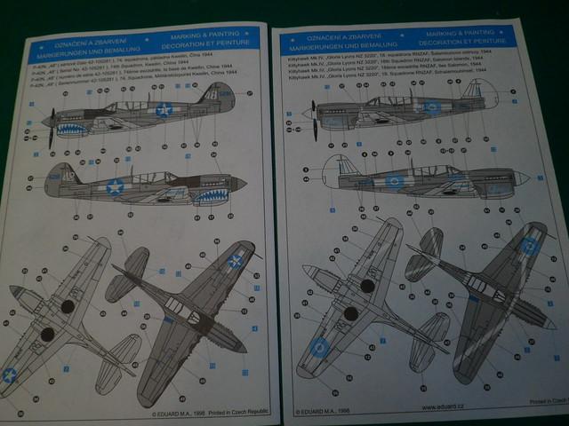 Ouvre boîte Curtiss P-40N Warhawk [Eduard 1/48] 51378822735_78d25b8a26_z