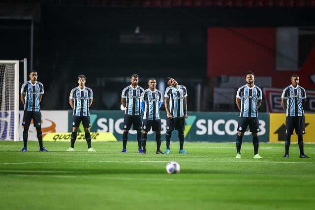 São Paulo x Grêmio - Brasileirão 2021 - 14/08/2021