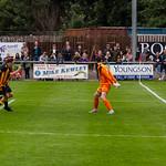 Gavin Elphinstone heads in the second