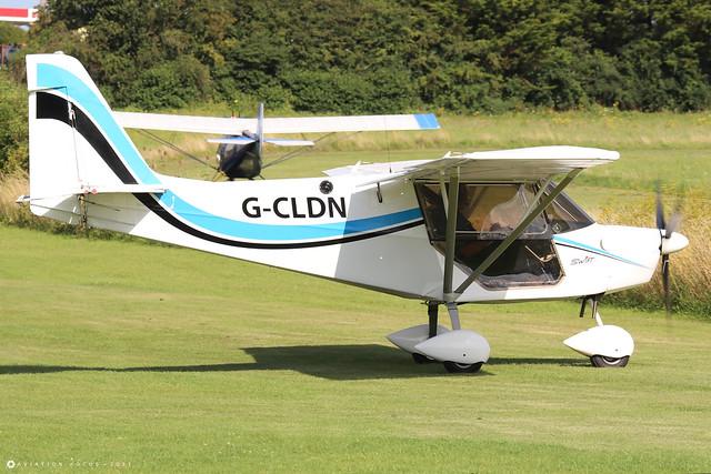 G-CLDN  -  SkyRanger Swift 912(1) c/n BMAA/HB/710  -  EGHP 14/8/21
