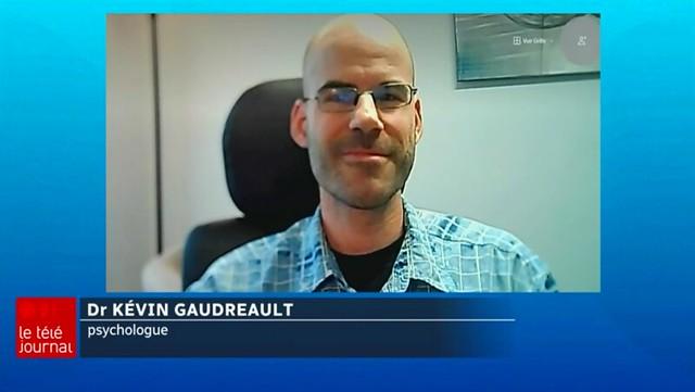 Dr. Kévin Gaudreault psychologue à Trois-Rivières