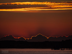 Sunset Gives Way To Dusk
