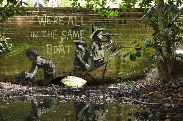 Banksy We're All In This Together