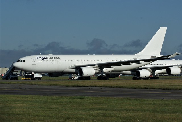 Airbus A330 9H-BFS @ Bournemouth, Aug 2021