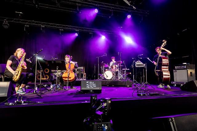 Jazz Middelheim '21: John Ghost, Kris Defoort Invites, Malaby/Dumoulin/Ber, MixMonk, Reservoir Ghosts - 14/8/21