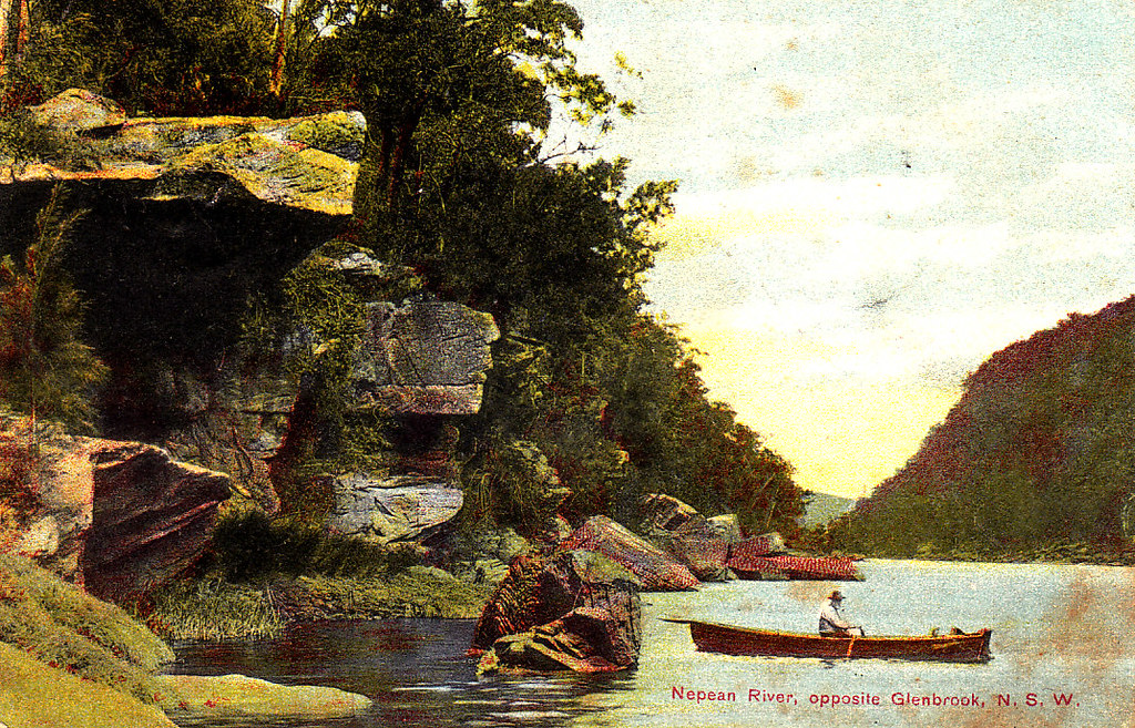 12# Nepean River. opposite Glenbrook, NSW.