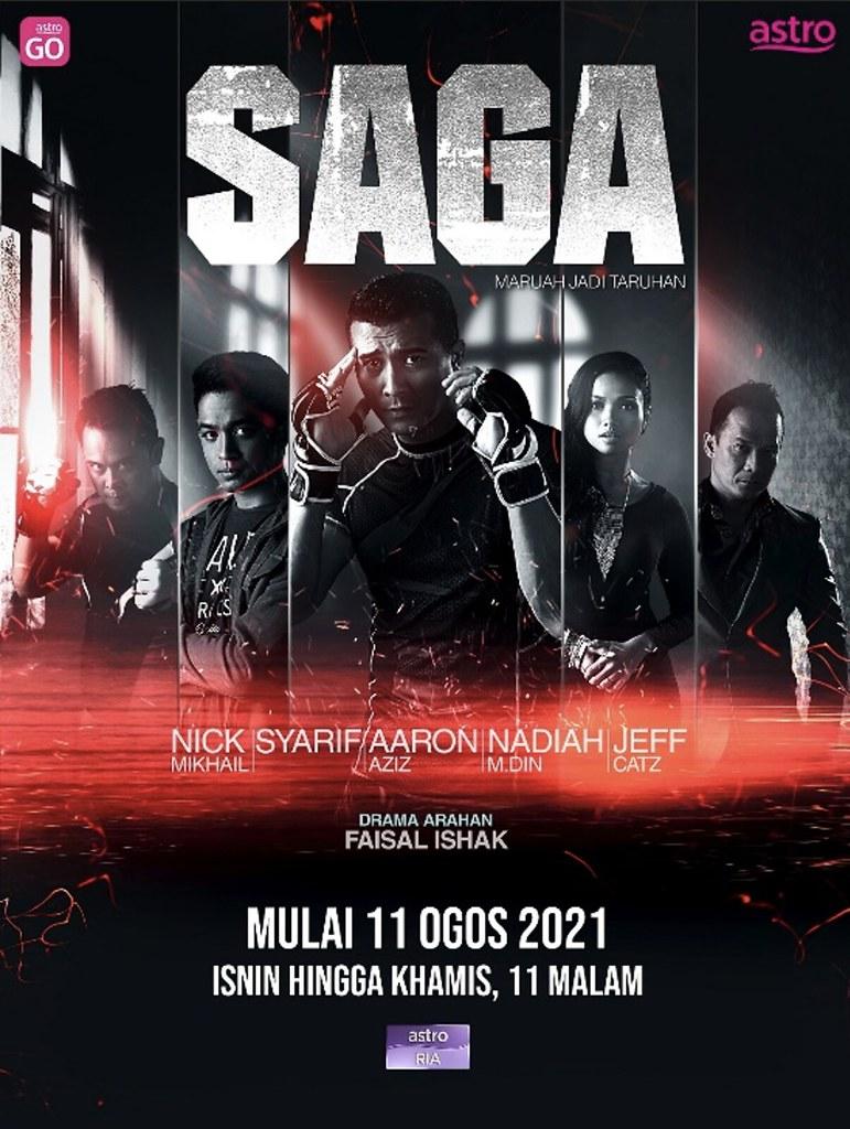 Drama Mini Saga Lakonan Aaron Aziz Ketengah Sukan Tempur Mma