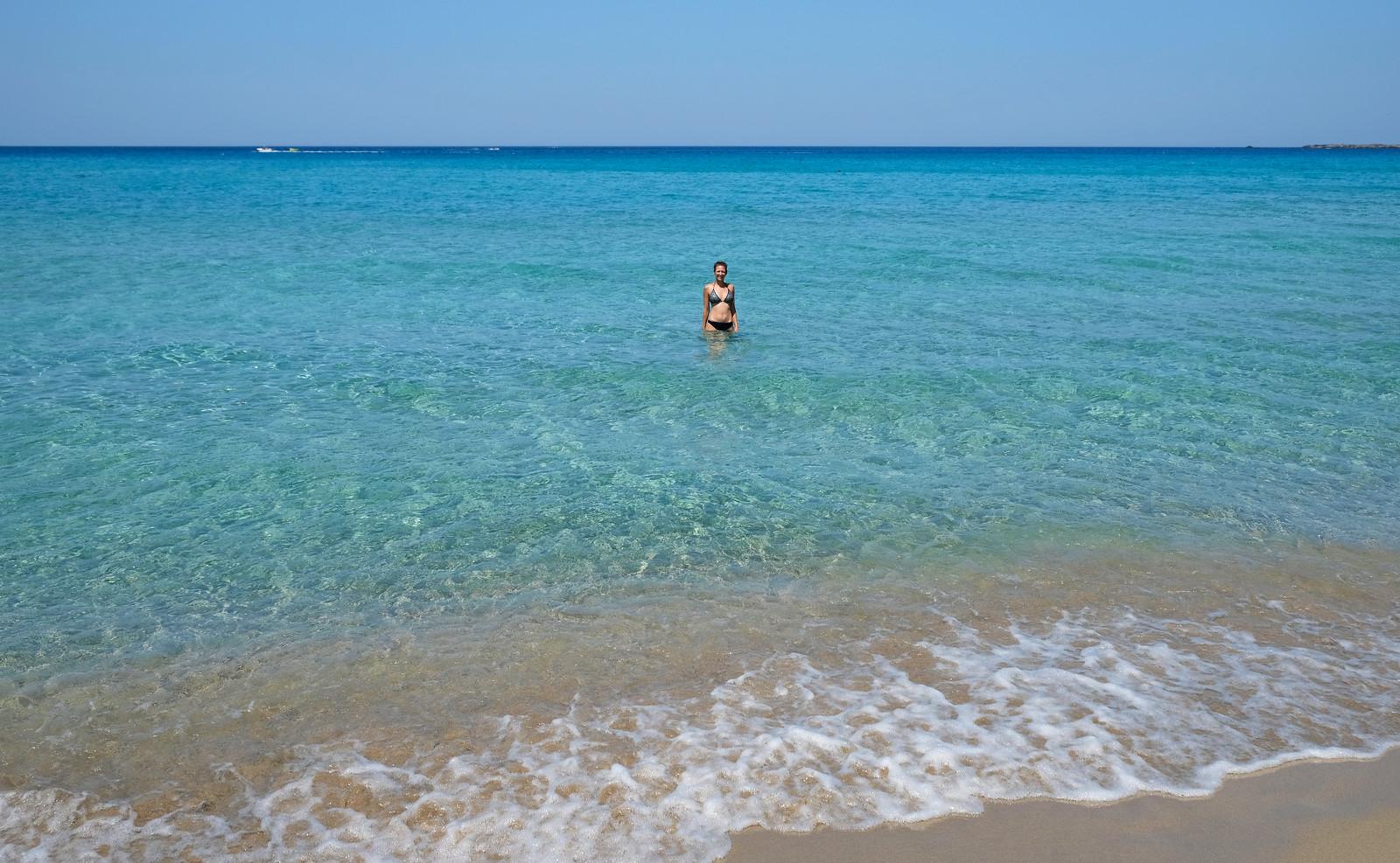 Falassarna Beach, Crete, Greece